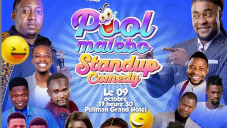 Le Pool Malebo Stand-Up Comedy